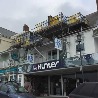 Commercial business scaffolding uk
