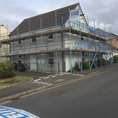 Private and Domestic scaffolding uk