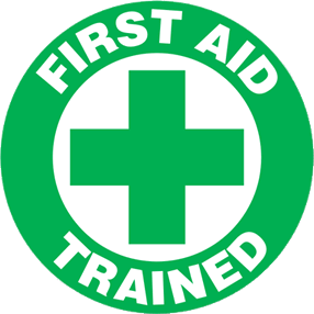 First aid trained